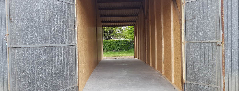 Vous pouvez louer ce box de 36 m2 à côté de Rennes
